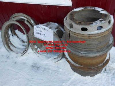 Диск колесный R20 10 отв. H2/H3 Б/У HOWO (ХОВО) 1417031100004 фото 1 Новосибирск