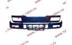 Бампер C синий верхний+нижний (в сборе) фото Новосибирск