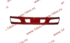 Бампер F красный пластиковый для самосвалов фото Новосибирск